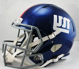 NFL New York Giants Riddell Full Size Replica Speed Helmet,