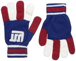 NFL New York Giants Knit Gloves, Blue, One Size