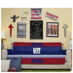 """NFL NY Giants Reversible Furniture Protector for Sofas 75"""" x"""