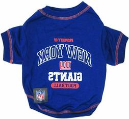 NFL Officially Licensed New York Giants Pet Dog T-Shirt