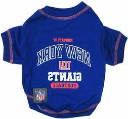 NFL Officially Licensed New York Giants Pet Dog T-Shirt
