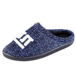 NFL Poly knit Cup Sole Slide Slippers New York Giants NEW