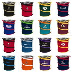 NFL Team Logo 3-in-1 Collapsible Beverage Cooler, Trash Can