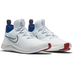 NWOB Women's New York Giants Nike White/Royal Free TR 8 Shoe