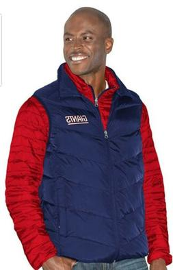 NWT New York Giants G-III NFL 3-in-1 Premium Vest and Puffer
