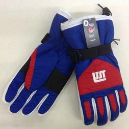 NWT NFL New York Giants Reebok Men's Winter Ski Glove w/ Gri