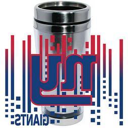NY New York Giants Logo Travel Mug Tumbler Stainless Steel N