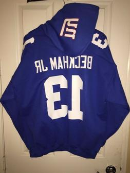 NY New York Giants Odell Beckham Jr. Jersey Style Hoodie Hoo