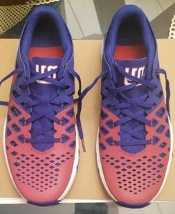NY New York Giants Nike Sneakers - Speed Train 4 AMP Size 11