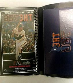 RARE Sadaharu Oh Baseball 756 hr commemorative notepad 1970'