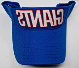 Read Listing! New York Giants Heat Applied FLAT LOGO on Roya