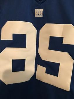 Saquon Barkley #26 New York Giants Youth Royal Stiched Jerse