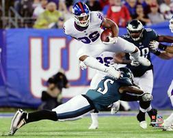 Saquon Barkley AIRBORN  New York Giants 16x20 Premium POSTER
