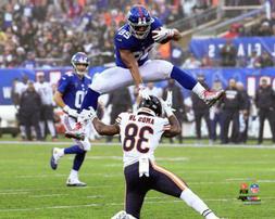 Saquon Barkley OVER AMOS  New York Giants 16x20 Premium POST