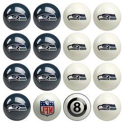 Seattle Seahawks NFL Home vs. Away Billiard Balls Full Set