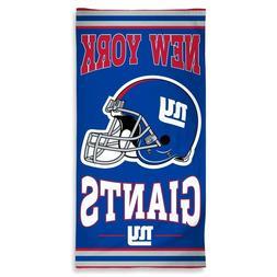 Set of 3 New York Giants Double Logo Summer Bath Beach Towel