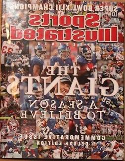 SPORTS ILLUSTRATED NEW YORK GIANTS SUPER BOWL XLII CHAMPS SE