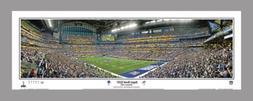 Super Bowl XLVI  NEW YORK GIANTS vs Patriots Panoramic POSTE