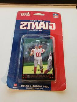 Topps 2007 Team Sets New York Giants New Sealed 12 Cards