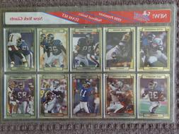 VINTAGE 1990 New York Giants Football Action Packed Team 10
