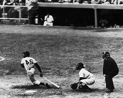 Willie Mays Batting NY New York Giants MLB Baseball Photo 11