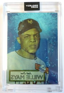 Willie Mays New York Giants Topps Project 2020 card #128