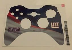 XBOX 360 Controller Skin New York Giants NFL Sticker Decal S