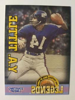 Y.A. Tittle New York Giants NFL 1998 Legends Starting Lineup